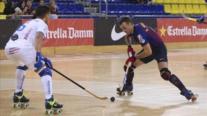 Imagen de archivo de uno de los últimos partidos del Barça Lassa