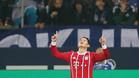 James fue el gran protagonista del triunfo del Bayern