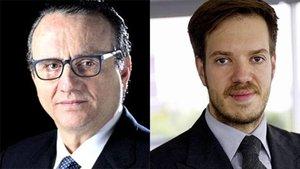 Javier Moll, presidente de Prensa Ibérica, y Antonio Asensio Mosbah, presidente de Grupo Zeta, han firmado la compraventa