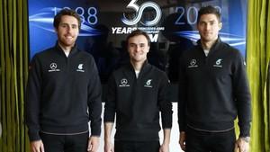 Juncadella (a la izquierda), vuelve al DTM con Mercedes