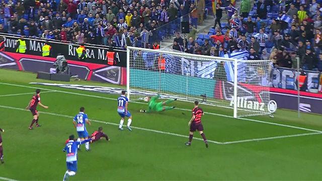 LACOPA | Espanyol - FC Barcelona (1-0): El gol de Melendo