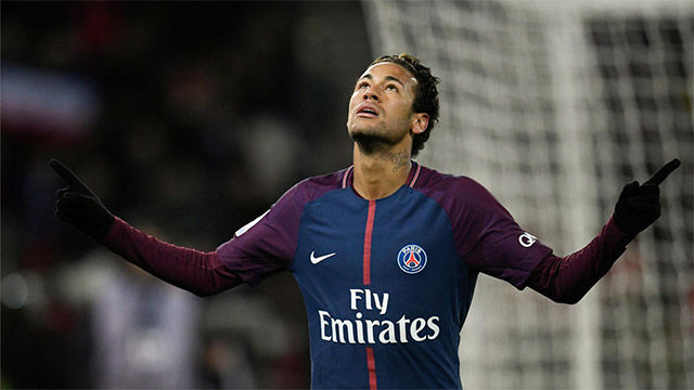 LALIGA FRANCIA | Neymar cerró la goleada del PSG de penalti