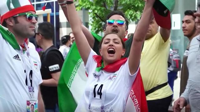 Las mujeres podrán asistir a los estadios de fútbol en Irán
