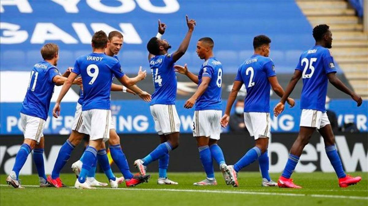 El Leicester se reencuentra con la victoria