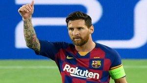 Leo Messi, modelo por un día