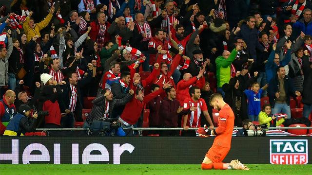 ¡Locura en Bilbao! Así celebró la afición del Athletic el triunfo ante el Sevilla