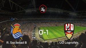 El Logroñés derrota en el Zubieta a la Real Sociedad B (0-1)