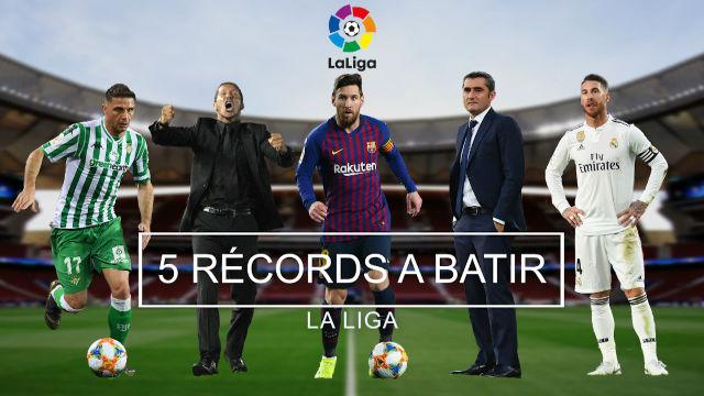 Los 5 récords a batir en La Liga