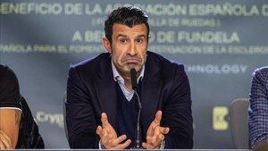 Luis Figo no quiere una Superliga europea