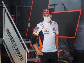 Márquez lo intentó sin éxito en Jerez