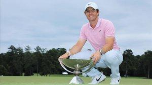 McIlroy toma el relevo de Tiger con su victoria en el Tour Championship