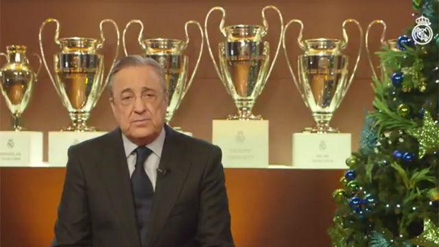 El mensaje de Navidad del Real Madrid