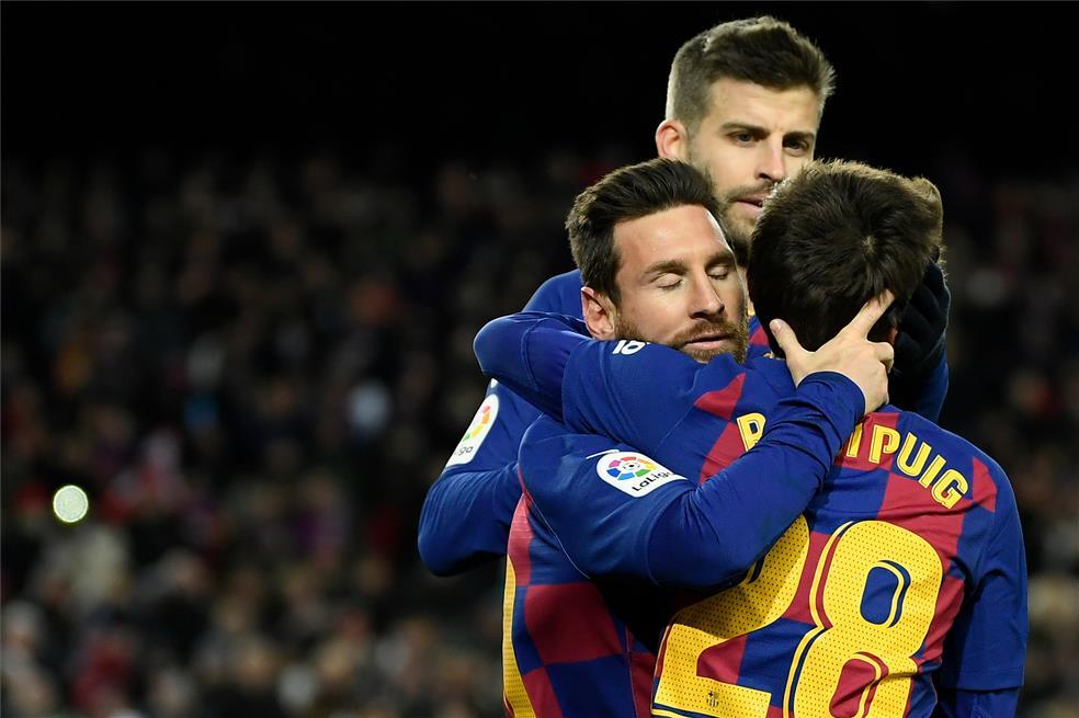 Messi vuelve a aparecer para desatascar al Barça ante el Granada (ES)