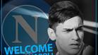 Montaje con el club italiano ha hecho para anunciar el fichaje por redes sociales