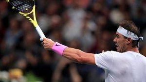 Nadal empieza su andadura en las ATP Finals