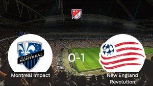 El New England Revolution se lleva los tres puntos ante el Montreal Impact (0-1)