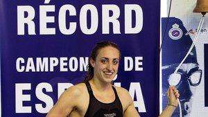 Nuevo récord de España para Lidón Muñoz