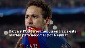 Optimismo, con cautela, en el Barça por el fichaje de Neymar