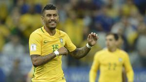 Paulinho cuenta con la plena confianza de su seleccionador