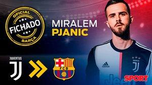 Pjanic, nuevo fichaje del FC Barcelona
