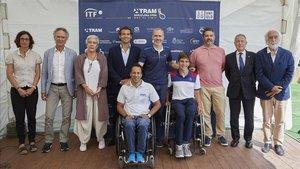Presentación de la 3ª edición del TRAM Barcelona Open