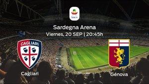 Previa del encuentro de la jornada 4: Cagliari contra Génova