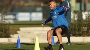Rafinha ya entrena con el Inter