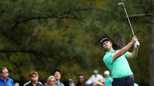 Rahm, durante la segunda jornada del Masters de Augusta