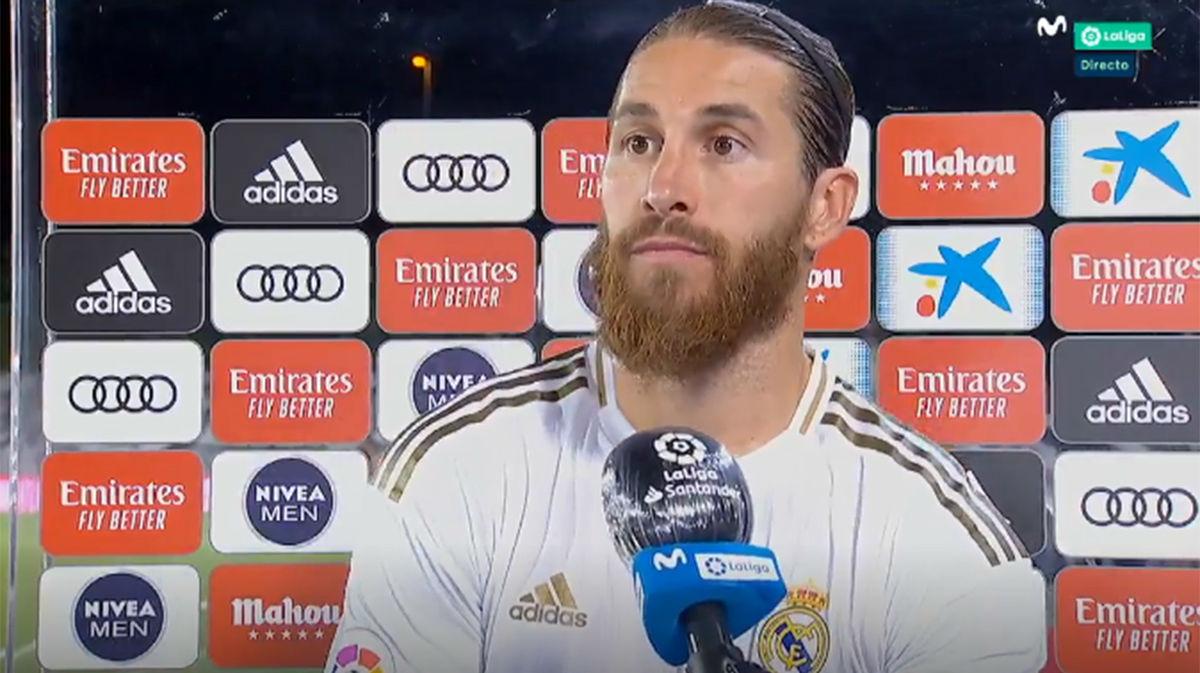 Ramos: Los árbitros están para ayudar y el VAR, también