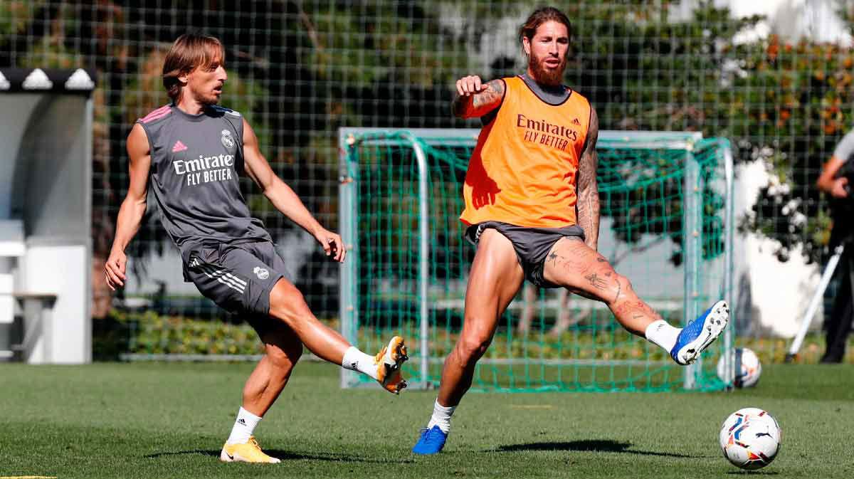 El Real Madrid sigue con los entrenamientos en Valdebebas