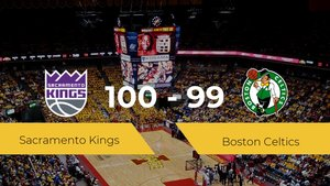 Sacramento Kings consigue la victoria frente a Boston Celtics por 100-99