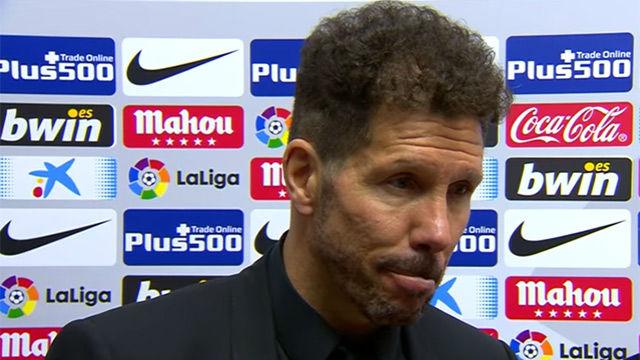 Simeone: Hicimos un partido muy completo