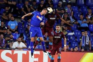 El Trabzonspor jugó ante el Getafe en la actual edición de la Europa League.
