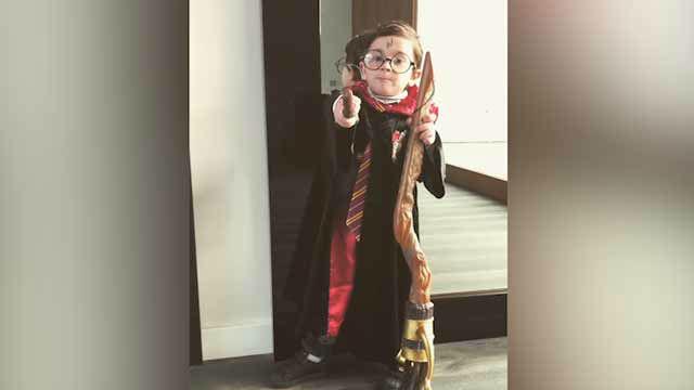 La última de Mateo Messi: hechiza por medio del espectro patronum