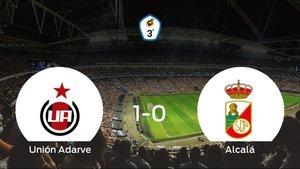 El Unión Adarve se hace fuerte en casa y consigue vencer al RSD Alcalá (1-0)