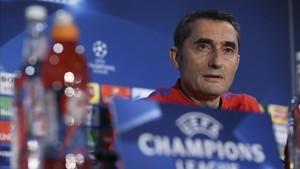 Valverde ha comparecido en rueda de prensa