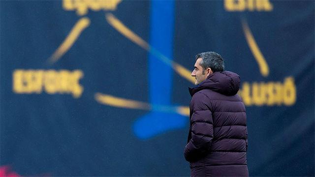 Valverde no espera entradas ni salidas