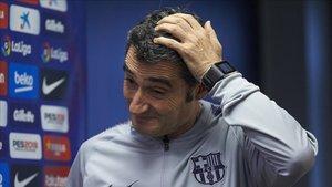 Valverde fue cuestionado sobre De Jong y Vela