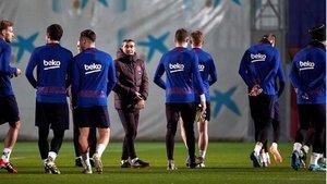 Valverde hará rotaciones contra el Inter, un partido en el que el Barça solo se juega el prestigio y la cantidad económica que se pone en juego