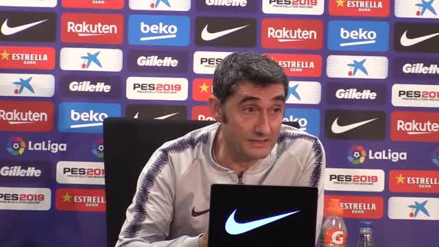 Valverde: No hay que pensar que pase nada especial con Piqué
