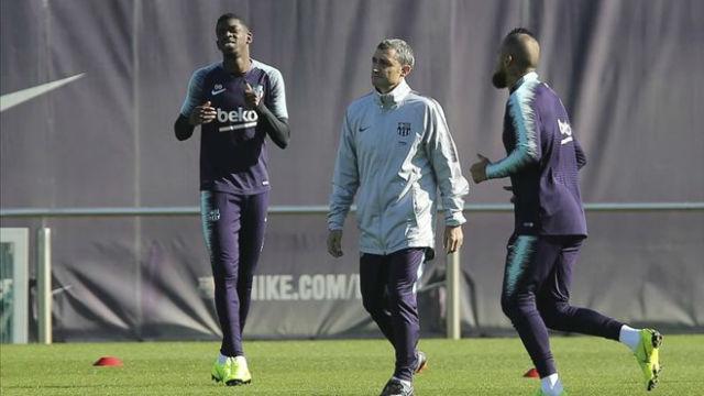 Valverde justificó la ausencia de Dembélé