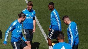 El vestuario del Real Madrid se rige poor unas normas convencionales
