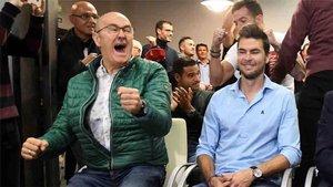 Víctor Cea estuvo pendiente del sorteo de la Copa del Rey