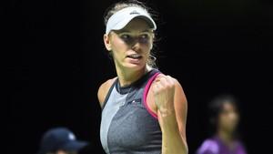 Wozniacki no tuvo problemas en su debut en Auckland