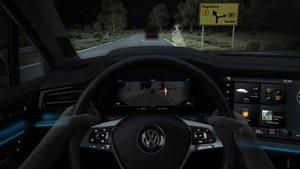 Iluminación del Volkswagen Touareg