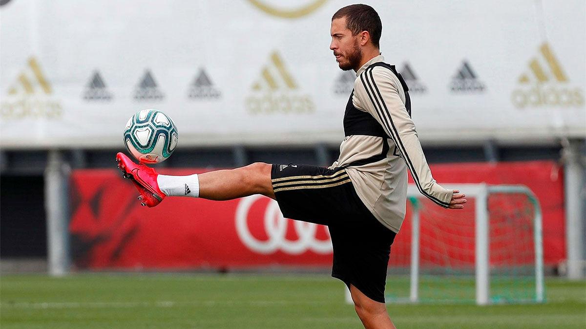 Hazard encabeza la expedición del Madrid