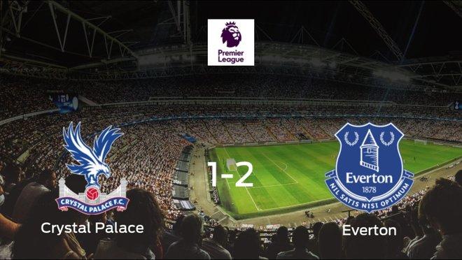El Everton se lleva el triunfo después de vencer 1-2 al Crystal Palace