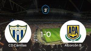 El Alcorcón B cae ante el Canillas (1-0)
