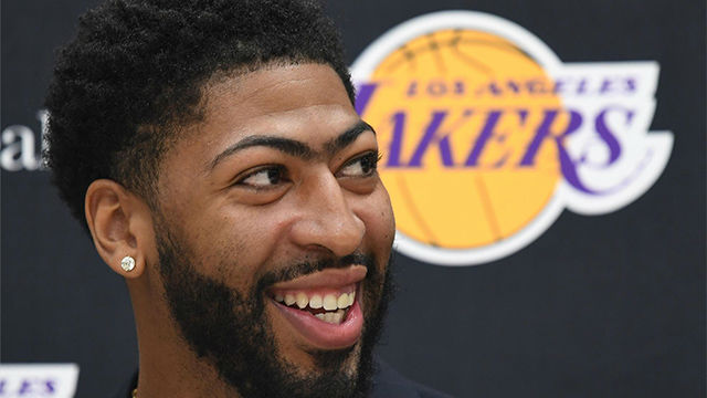 Anthony Davis: Me enteré de mi traspaso a los Lakers por instagram