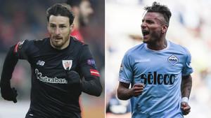 Aritz Aduriz y Ciro Immobile, máximos goleadores de la Europa League 2017/18